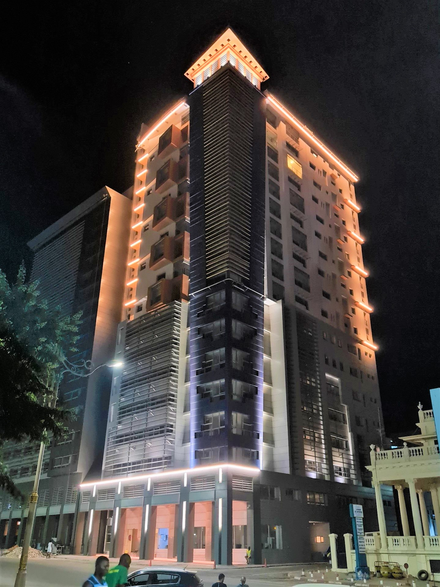 Dakar - IPRES - Building - Architectural Lighting