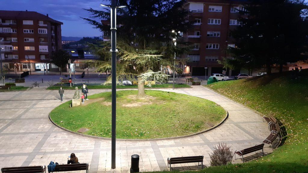 Outdoor lighting - Spain